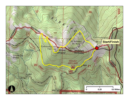 Ashland Montana Map.Course Details Mt Ashland 5k